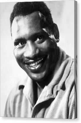Sanders Of The River, Paul Robeson, 1935 Canvas Print by Everett