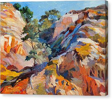 Sandstone Canyon Canvas Print