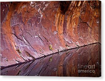 Sandstone Reality Canvas Print by Mike  Dawson