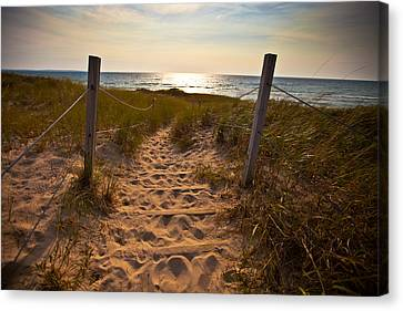 Canvas Print featuring the photograph Sandswept by Jason Naudi Photography