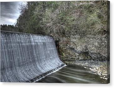 Sandy Hook Mill Dam Canvas Print by David Clark
