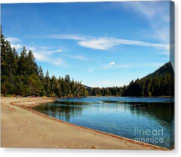 Sanjo Beach Canvas Print
