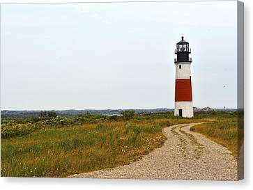 Sankaty Lighthouse Canvas Print