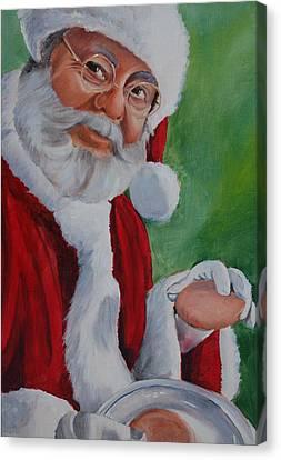 Santa 2012 Canvas Print