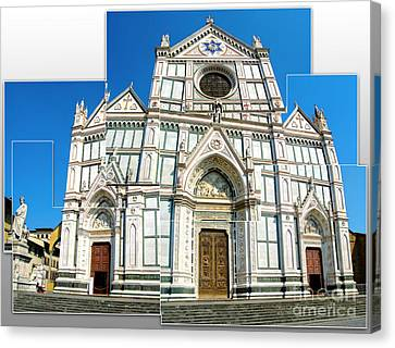 Santa Croce Canvas Print by Gregory Dyer
