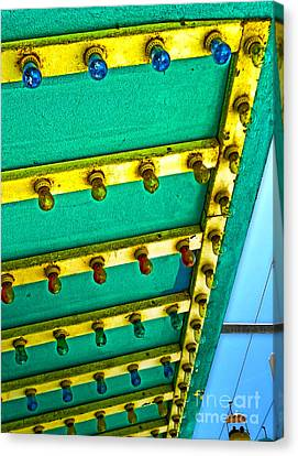Santa Cruz Boardwalk - 02 Canvas Print by Gregory Dyer