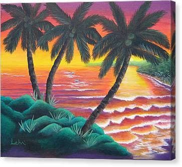 Santa Cruz Canvas Print by Diana Lehr
