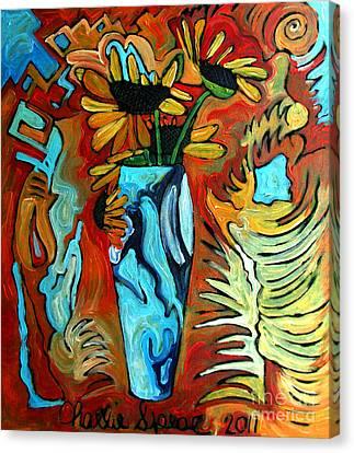 Santa Fe Sunflowers Canvas Print