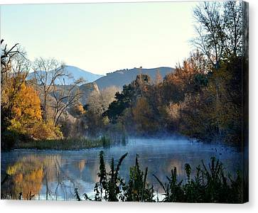 Santa Ynez River Canvas Print