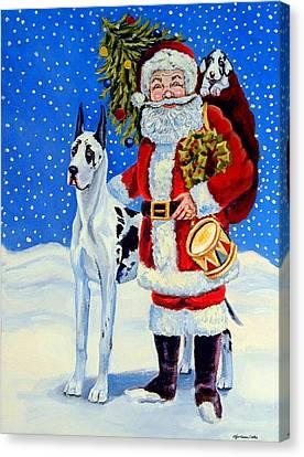 Santa's Helpers Canvas Print