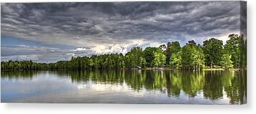 Santee - Panoramic Canvas Print by Donni Mac