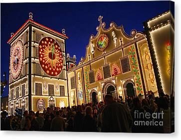Santo Cristo Festivities Canvas Print by Gaspar Avila