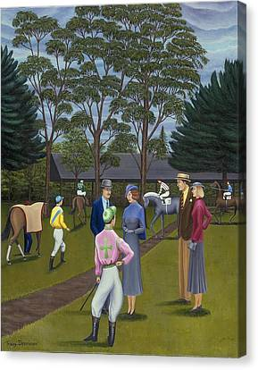 Saratoga Canvas Print by Tracy Dennison