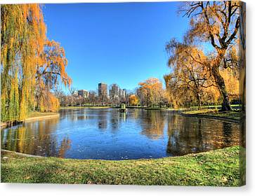 Saturday In The Park Canvas Print by JC Findley