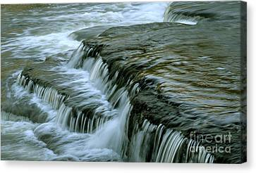 Sauble Falls Closeup Canvas Print by Chris Hill