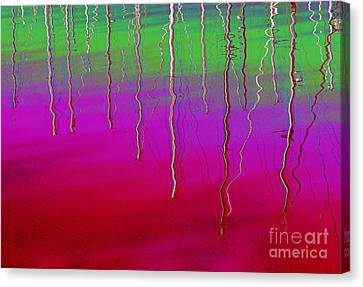 Sausalito Canvas Print - Sausalito Bay California In Color by Ausra Huntington nee Paulauskaite