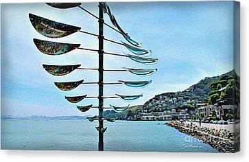 Sausalito Canvas Print - Sausalito Coast by Joan  Minchak