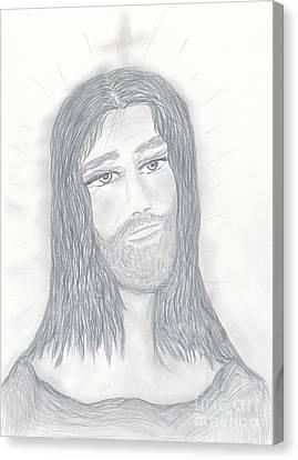 Savior Canvas Print by Sonya Chalmers