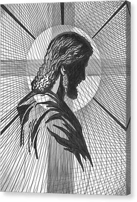 Saviour Canvas Print by Peter Olsen