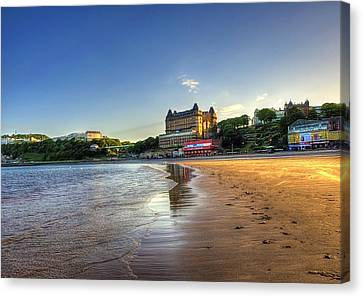 Scarborough Eve Canvas Print by Svetlana Sewell