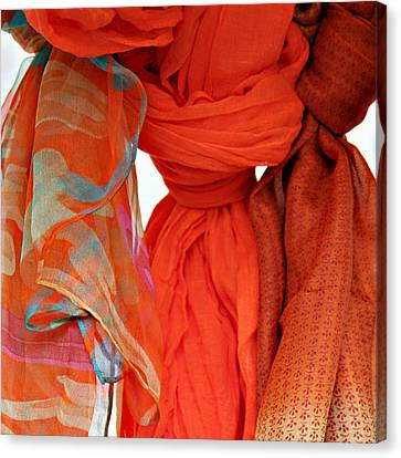 Scarves Canvas Print by Tony Grider