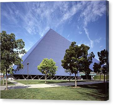 Scenes Of Los Angeles, The Pyramid Canvas Print by Everett