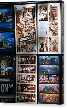 Scenes Of New York Canvas Print by Rob Hans
