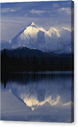 Scenic Mountain Lake Canvas Print by Natural Selection Robert Cable