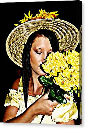 Scent Of Summer Canvas Print by Cindy Nunn