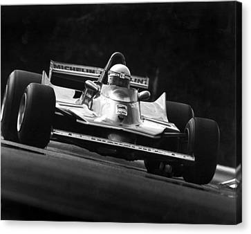 Scheckter Turn Nine Canvas Print by Mike Flynn