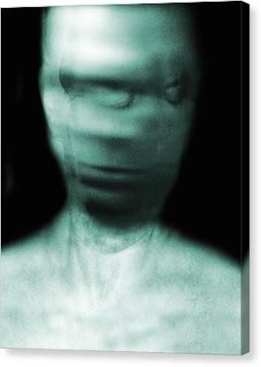 Psychiatric Canvas Print - Schizophrenia by Victor Habbick Visions