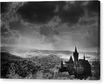 Sombre Canvas Print - Schloss Wernigerode by Simon Marsden