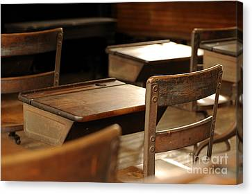 School Is Out Canvas Print by Nancy Greenland