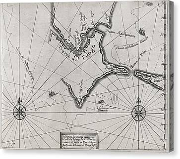 1616 Canvas Print - Schouten Rounding Cape Horn, 1616 by Middle Temple Library
