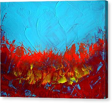Scorched Canvas Print by Holly Anderson
