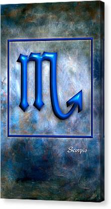 Scorpio  Canvas Print by Mauro Celotti