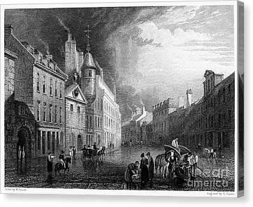 Scotland: Aberdeen, 1833 Canvas Print by Granger