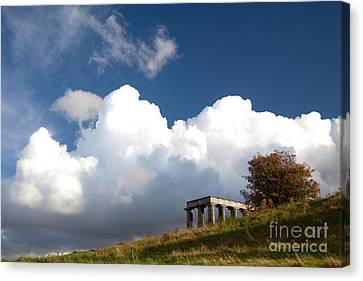 Canvas Print - Scottish National Monument On Calton Hill by Steven Gray