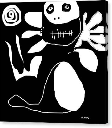Scout Boo Ham Canvas Print by Doug  Duffey