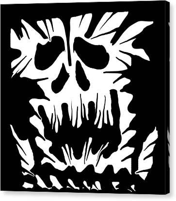 Scream It Canvas Print by Ember Findlay