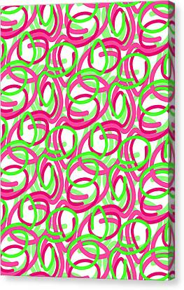 Scroll Canvas Print by Louisa Knight