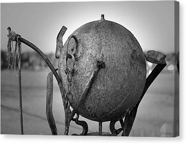 Sculpture Canvas Print by Eric Gendron