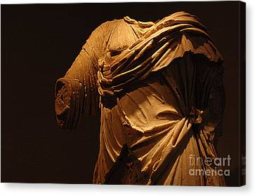 Sculpture Olympia 1 Canvas Print by Bob Christopher