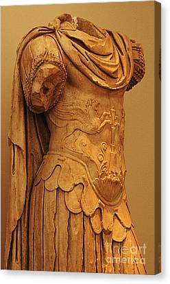 Sculpture Olympia 2 Canvas Print by Bob Christopher