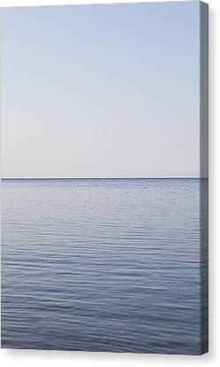 Sea And Horizon Canvas Print by James French