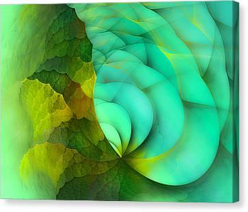 Turn Canvas Print - Sea Dragon by Betsy Knapp