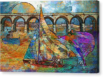 Sea Dream Canvas Print by Mary Ogle