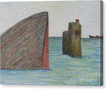Sea Front Canvas Print by Nedunseralathan R