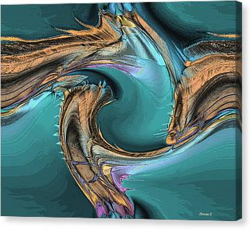 Sea Magic Canvas Print by Ines Garay-Colomba