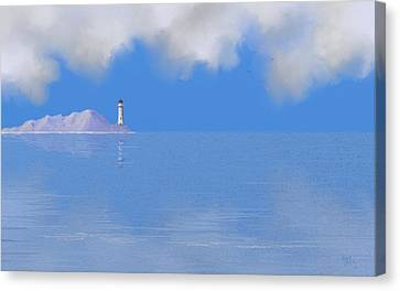Sea Of Tranquility Canvas Print by Tony Rodriguez